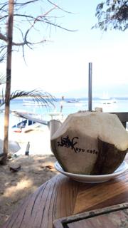 Kayu Cafe by the beach